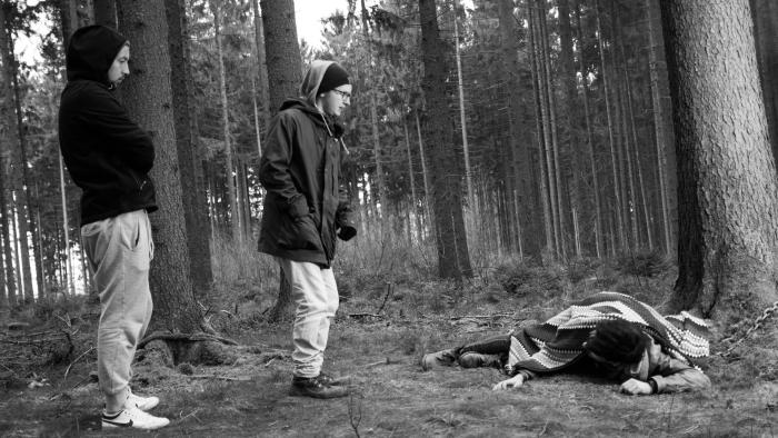 Director Imanuel giving Richard advices